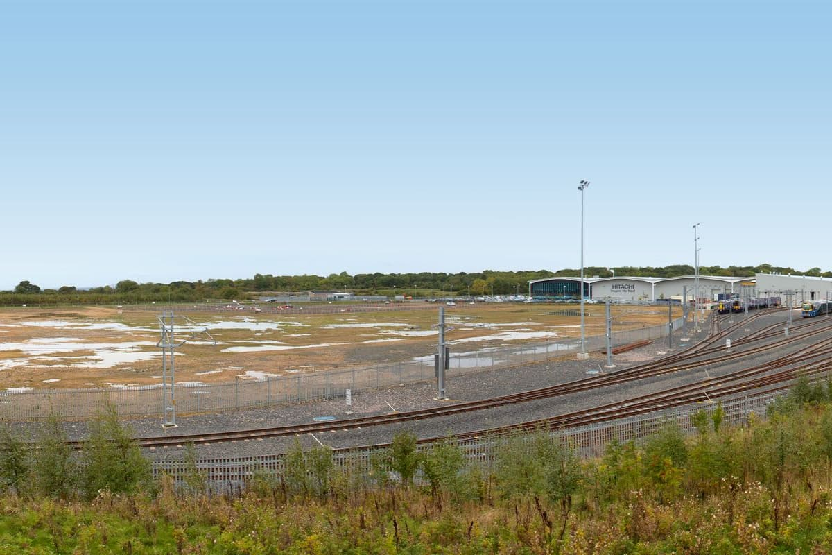 Merchant Park Plot 3 Hitachi Rail